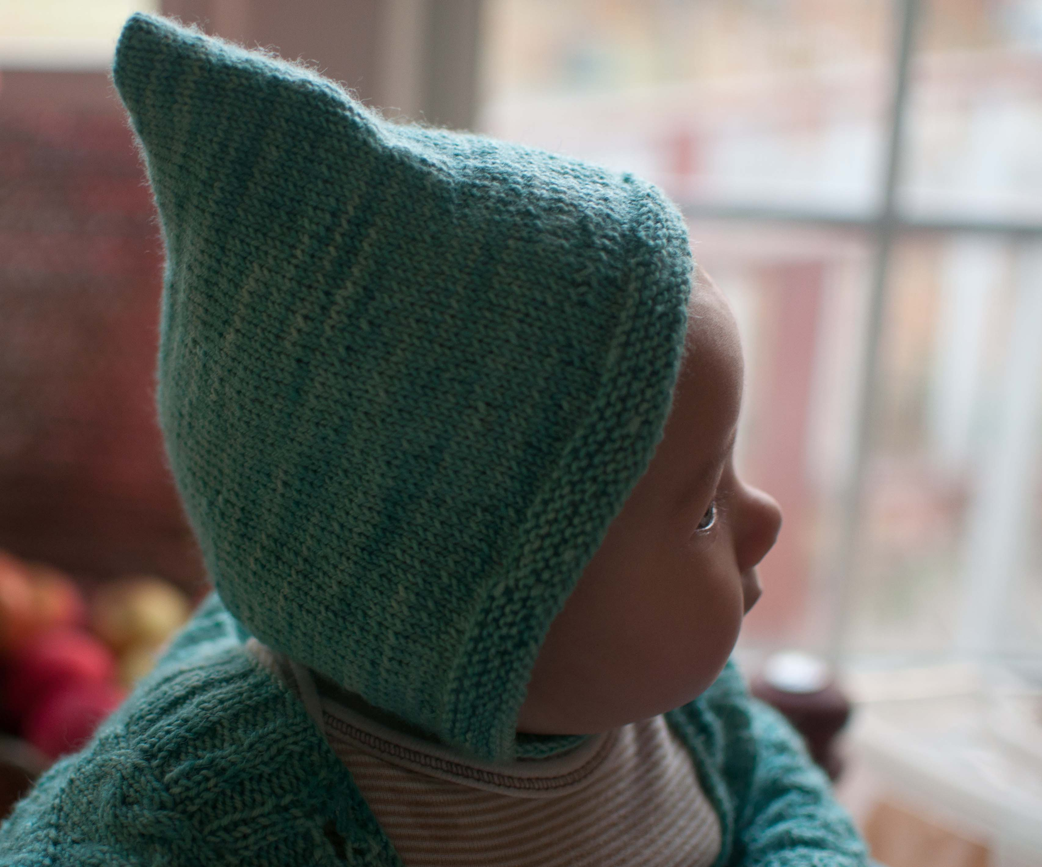 Knitting Pattern For Pixie Hat : Vintage Pixie Cap