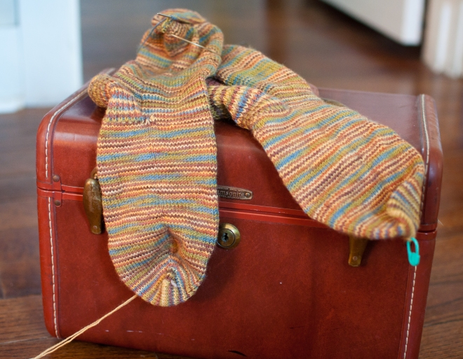 matt stripe sock-2