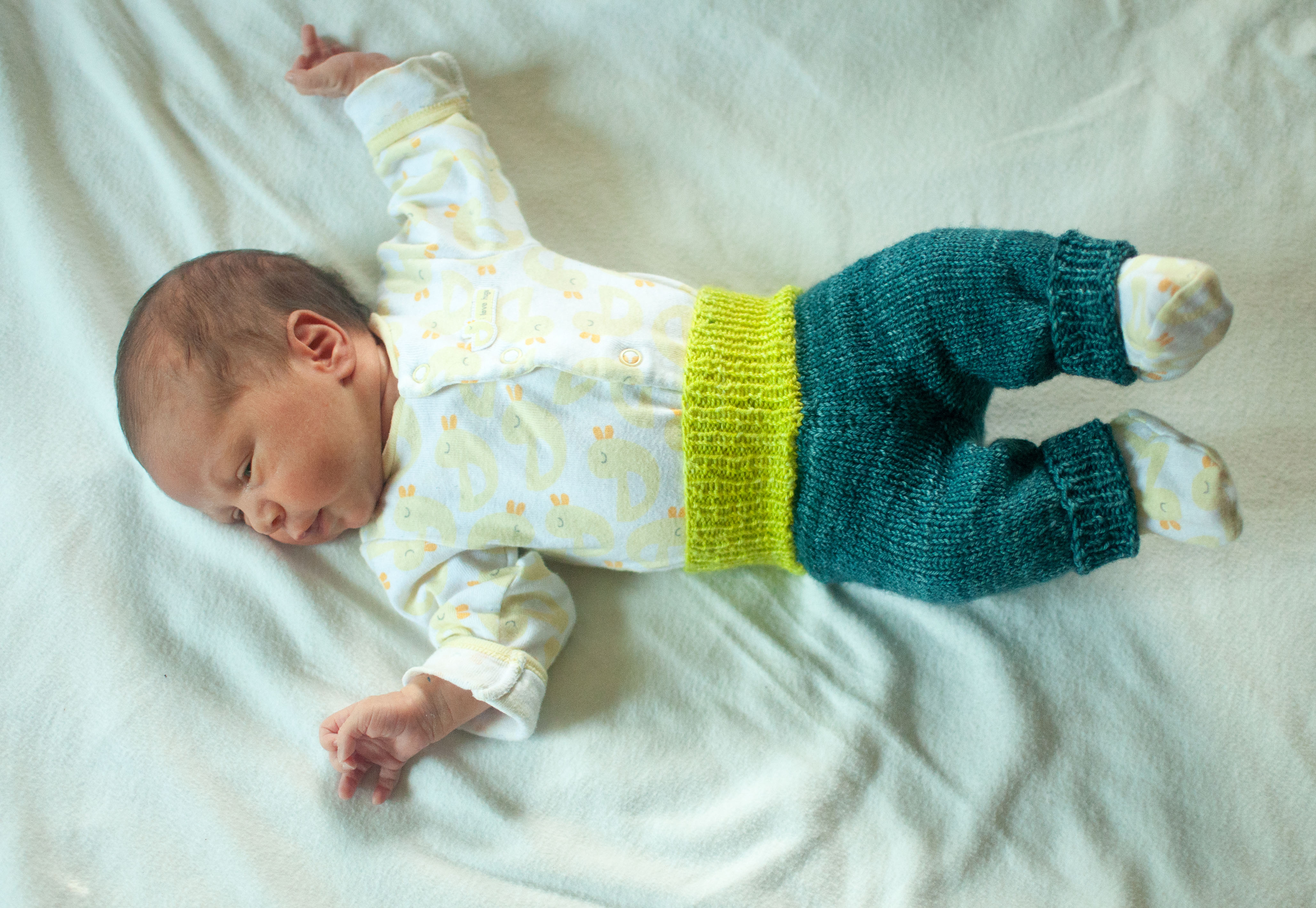 ze tiny pants – knit the hell out